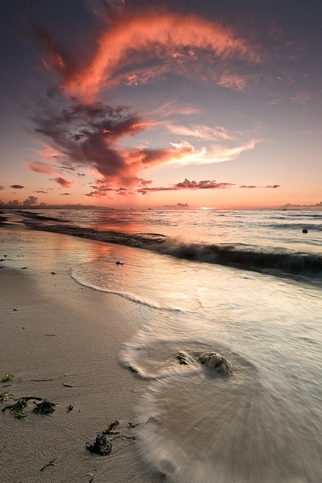 Gorgeous beach and Sunset