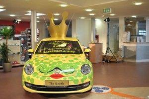 The new Volkswagen Beetle