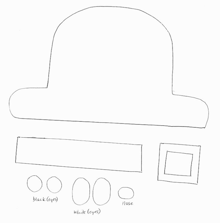 29 best images about st patrick 39 s day on pinterest easy for Leprechaun hat template printable