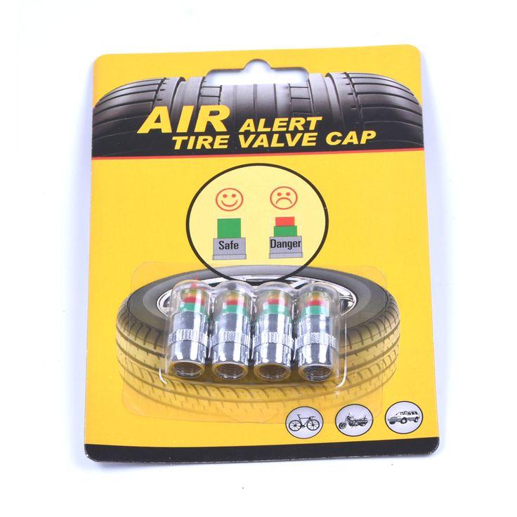 4 pcs/Lot 32 Psi 2.2bar Auto Ban cap tekanan Ban Mobil Air Pressure Monitor Alert Indikator Diagnostik Gauge Alat