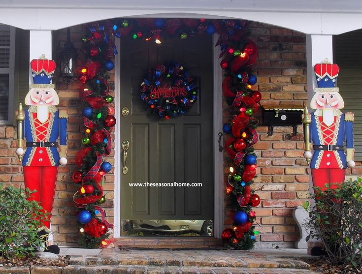 Porch Christmas Decorating Ideas 141 best nutcracker images on pinterest | nutcracker christmas