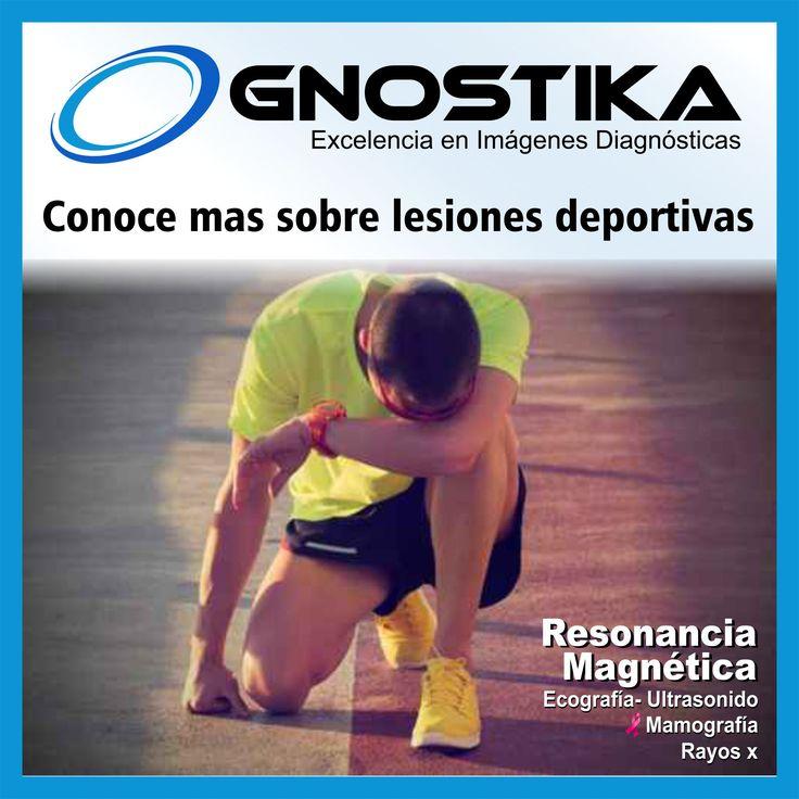 Conoce mas sobre lesiones deportivas en GNOSTUKA http://goo.gl/ZR3C3m En el Deporte, el lado negativo se encuentra sin duda en las lesiones deportivas.