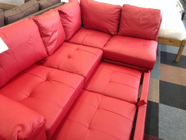 7 best Fernando Leather Right Hand Sofabed Corner Group Red images