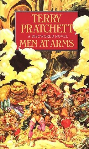 Men at Arms (1993)  (Book 15 in the Discworld series)  A novel by Terry Pratchett