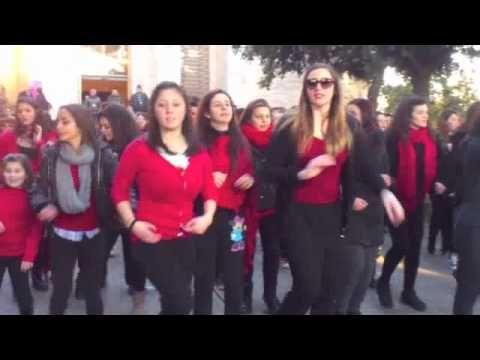 Paestum - Flash Mob - One Billion Rising #cilento