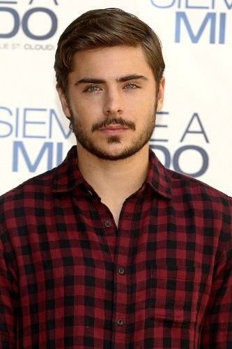 Aaaannd . . . Who doesn't love a good picture if Zack Efron in flannel eh? -HB
