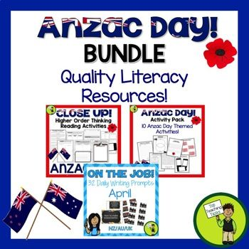 Anzac Day Bundle - Anzac Day ELA Resources