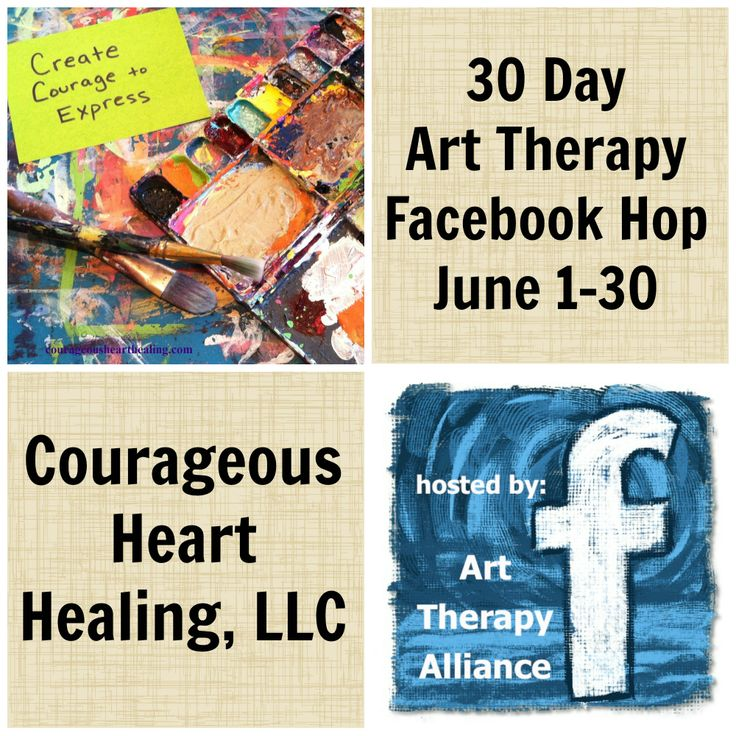 The FB page of Courageous Heart Healing, LLC in Seattle, Washington where Art Therapist Jennifer Harkness creatively cultivates courage and compassion.