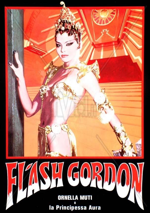 FLASH GORDON (1980) Italian Character Posters
