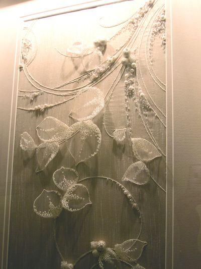 Amazing Embroidery -and- mosaics by Irish Artist Mary Whelan