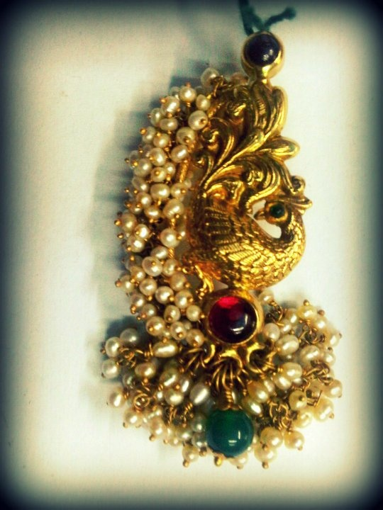 Temple Jewellery collection from Sayar