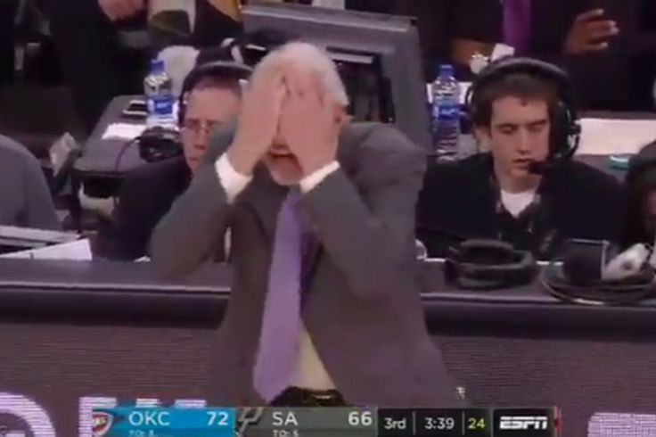 Gregg Popovich called all 3 referees 'f***ing blind' after pointing to them