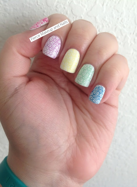 Fierce Makeup and Nails: Twinsie Tuesday: Rainbow Nails: Nails Inspiration, Fiercemakeupandnail Com, Rainbows Mani, Nails Nails, Makeup And Nails, Rainbow Nails, Fierce Makeup, Twinsi Tuesday, Rainbows Nails