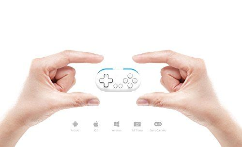 QUMOX FC30 Zéro Bluetooth manette de jeu pour IOS / Android / Windows / Mac #QUMOX #Zéro #Bluetooth #manette #pour #Android #Windows