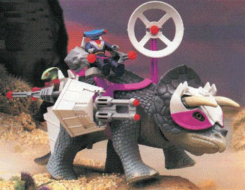 I had this sweet Dinorider. Dinosaurs + lasers = awesome.
