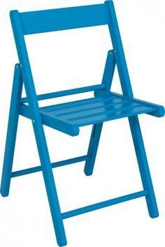 Складной стул Tauari Wood & Цвет Синий - Случайные
