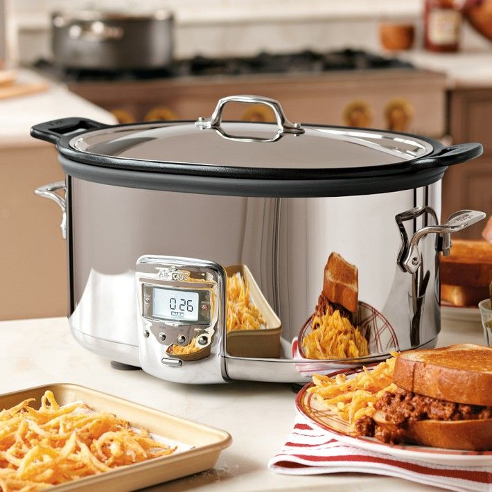 All-Clad Deluxe Slow Cooker | Williams-Sonoma  OH BOY!!!