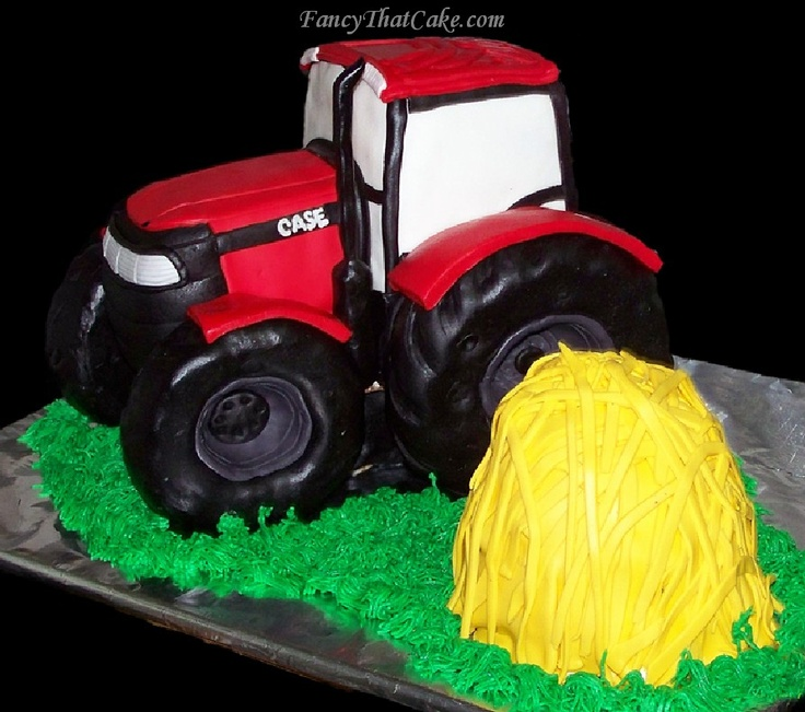 International Harvester Case Tractor Cake Birthday 30