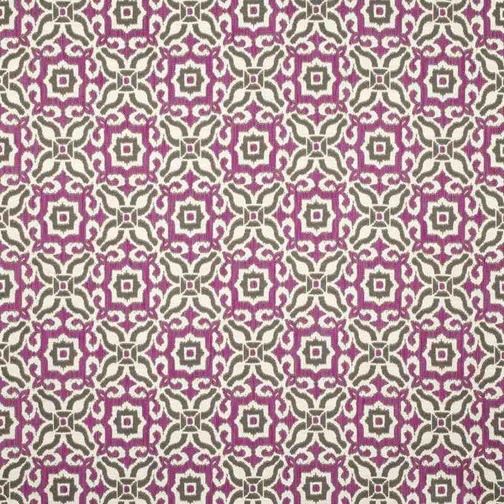 Warwick Fabrics : PUEBLO MAGENTA