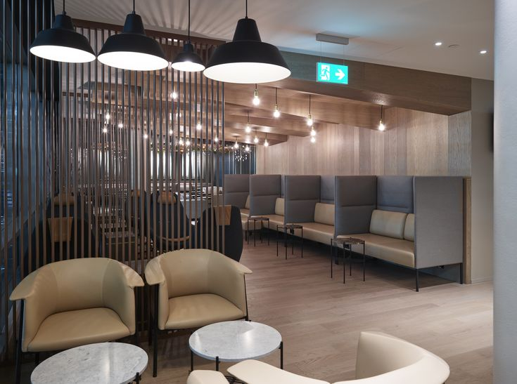 Business Class Lounge At Oslo Airport Gardermoen Designed