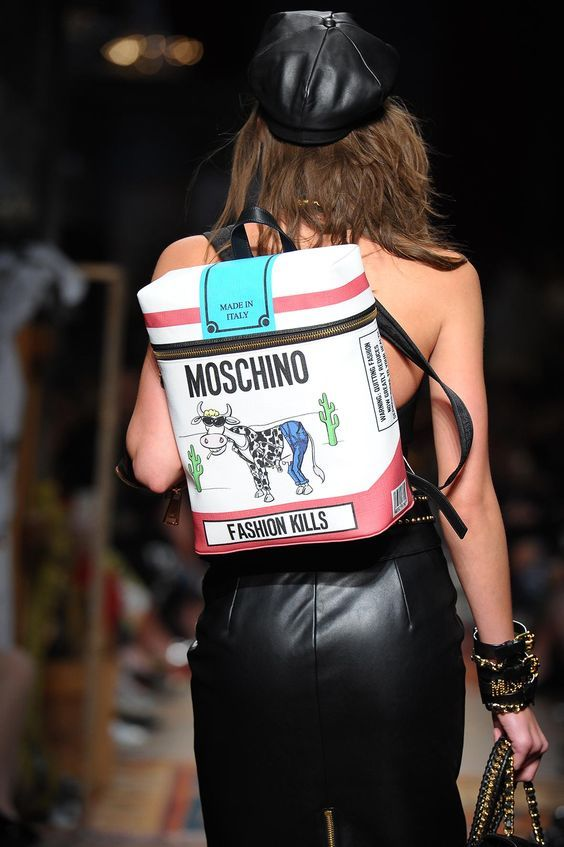 Moschino Handbags collection & more details