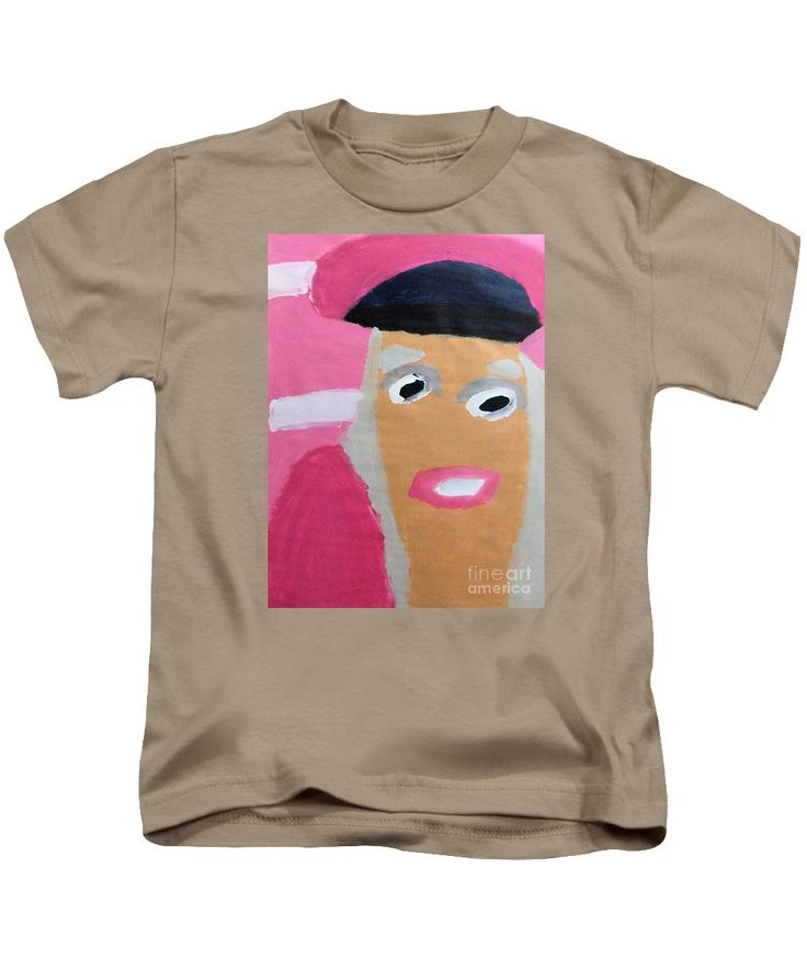 Patrick Francis Kids T-Shirt featuring the painting Nicki Minaj 2014 by Patrick Francis