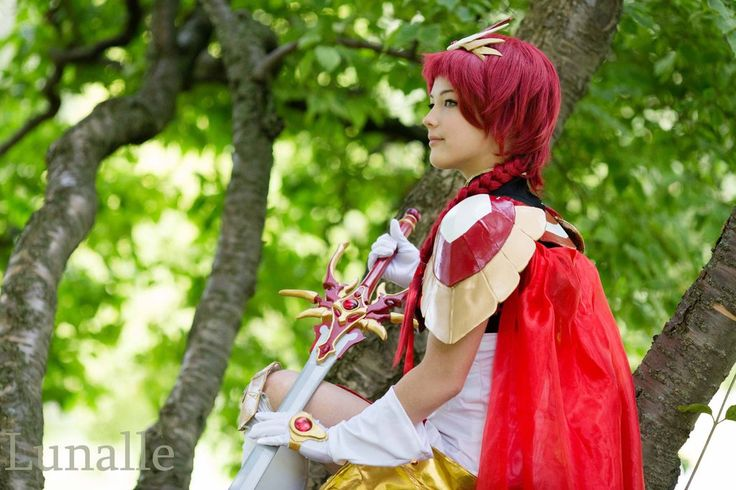 Hikaru Shidou- Magic Knight Rayerarth by LemonBlast.deviantart.com on @DeviantArt
