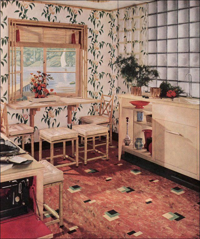 Vintage Kitchen Photography: 65 Best Linoleum Images On Pinterest