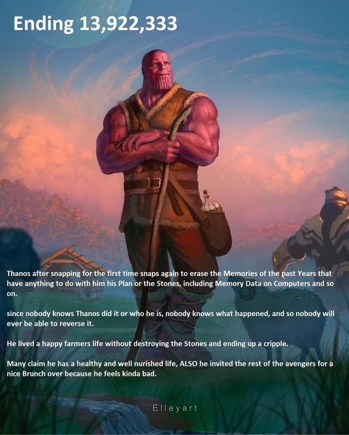 A Wholesome Ending Alternative Avengers Endgame Endings Avengers Memes Know Your Meme