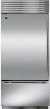 Sub-Zero BI30U Built-In Bottom-Freezer Refrigerator contemporary refrigerators and freezers