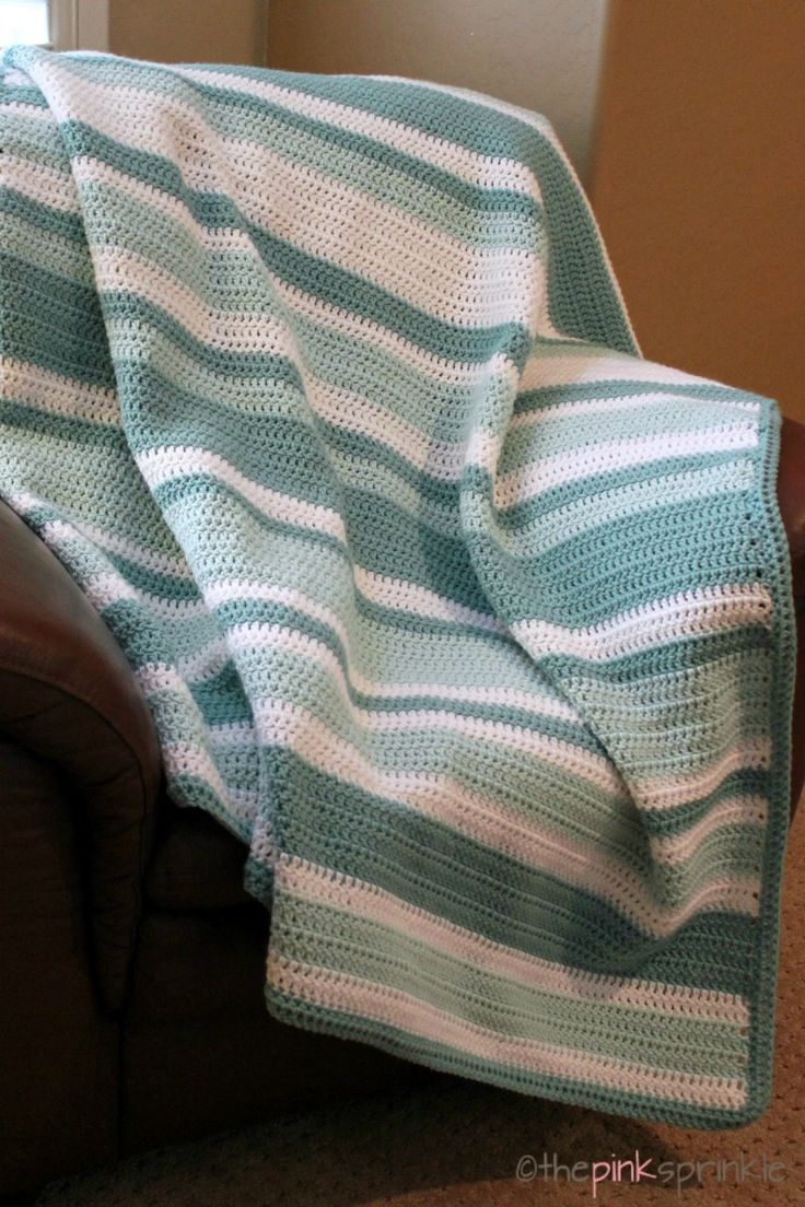 Best 25 striped crochet blanket ideas on pinterest baby blanket an easy beginner crochet afghan made with all double crochet stitches link to the random stripe generator to create unique striped patterns bankloansurffo Gallery