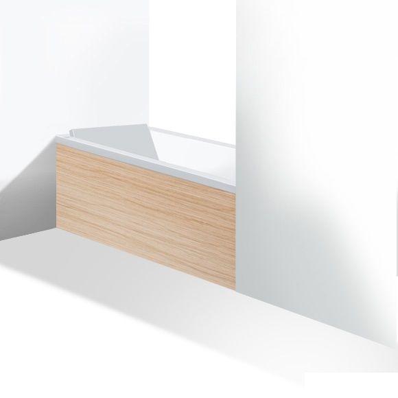 duravit stark new inch furniture panel for niche alcove for bathtubs