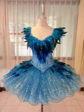 Professional Classical Ballet Tutu Sleeping Beauty Blue Bird Dance Costume