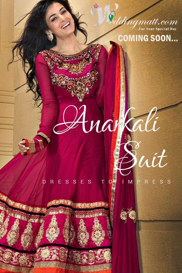 Anarkali Suits Dresses To Impress ‪#‎WeddingMatt‬ ‪#‎WeddingColection‬ Shop Now:- http://weddingmatt.com/