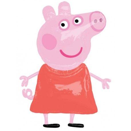 """GLOBOS DE FOIL AIRWALKER 48"""" x 36"""" Peppa Pig. Anagram. Para inflar con aire o con gas helio. Globo gigante que impresionará en tus decoraciones con globos."""