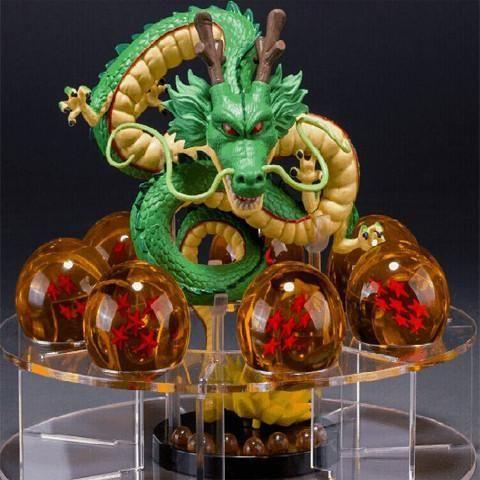 dragon ball z toy action figures 2015 New Dragonball figuras 1 figure dragon shenlong +7 crystal balls 4.3cm +1 shelf brinquedos - Visit now for 3D Dragon Ball Z compression shirts now on sale! #dragonball #dbz #dragonballsuper