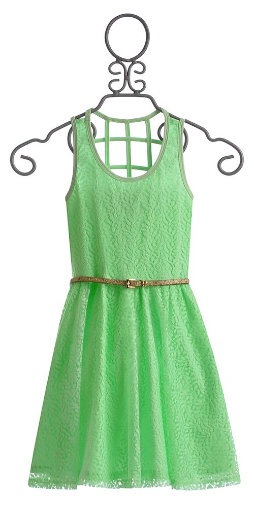 Truly Me Mint Dress for Tweens $56.00