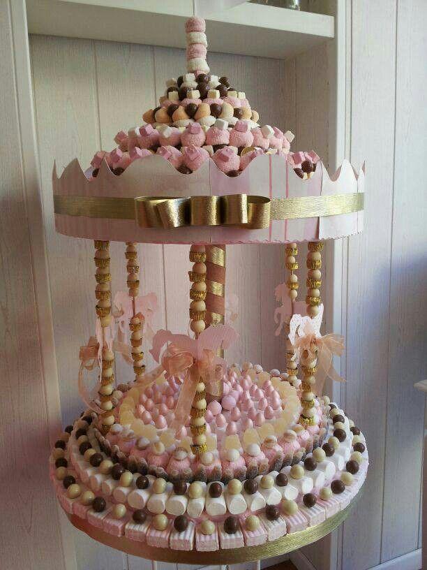 Carrusel Candy Cake - Tarta de Chuches - Gâteau de bonbons - Snoeptaart - #golosinas
