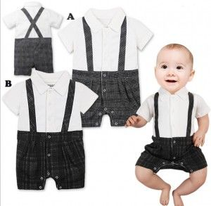 11E286 baby suit short sleeve