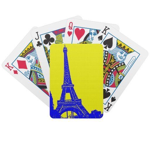 Eiffel Cartas De Juego http://www.zazzle.com/eiffel_cartas_de_juego-256087105490900586?lang=es