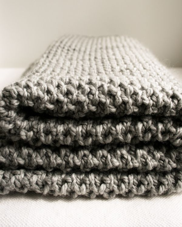 Fluffy Brioche BabyBlanket - Knitting Crochet Sewing Crafts Patterns and Ideas! - the purl bee