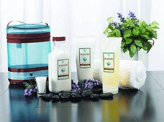 ForeverHealthy2014: Valentine's Day Gift Ideas Step 1: Soak away your cares with Relaxation Bath Salts, formulated with legendary Dead Sea Salt, lavender, and other essential oils  Step 2: Cleanse with Relaxation Shower Gel; use with our loofah to exfoliate and smooth your skin  Step 3: Moisturize with our aromatic, emollient Relaxation Massage Lotion – the perfect end to your ultimate, in-home spa experience.