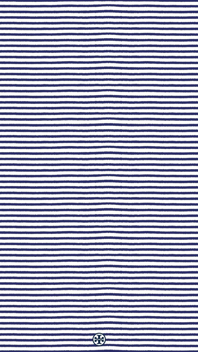 Tory Burch iPhone wallpaper  WALLPAPER_Stripes_640x1136.jpg 640×1,136 pixels