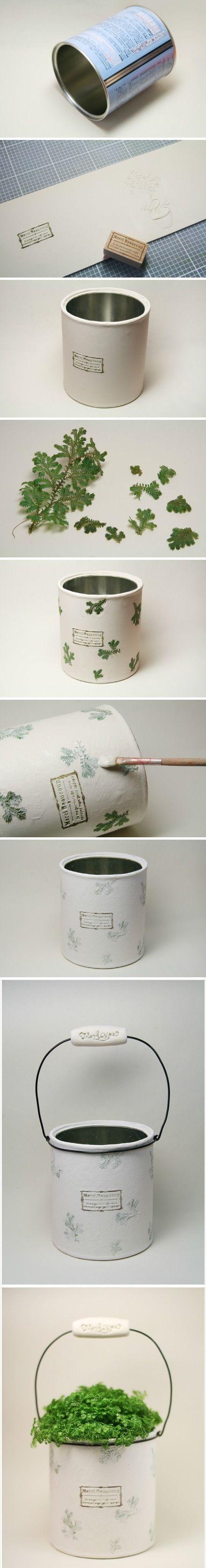 DIY - flowerpot