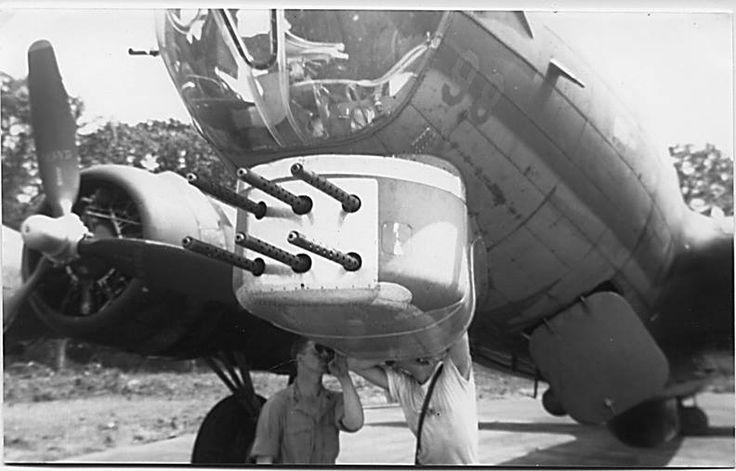 B-17G, with six .50 machine guns
