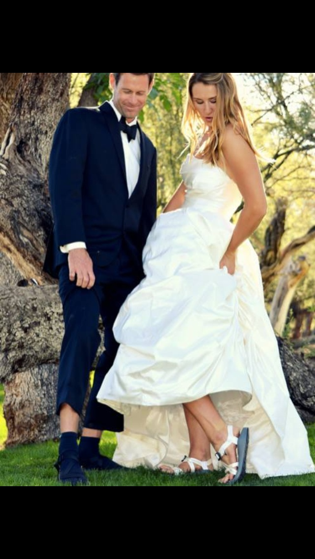 Chacos On Your Wedding☆ I Have Been Thinking Of This