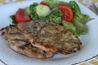 Smokey Honey mustard pork chops: The recipe taught me how to cook pork chops the correct way(so they are still tender a juicey). It has great flavor and is super easy too!