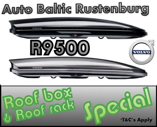 Roof Box & Roof rack Special