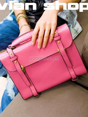 Tas Wanita Selempang Satchel 'Pink'