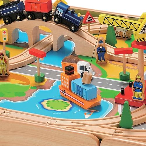 En esta ciudad todo funciona a las mil maravillas #toys #Imaginarium.